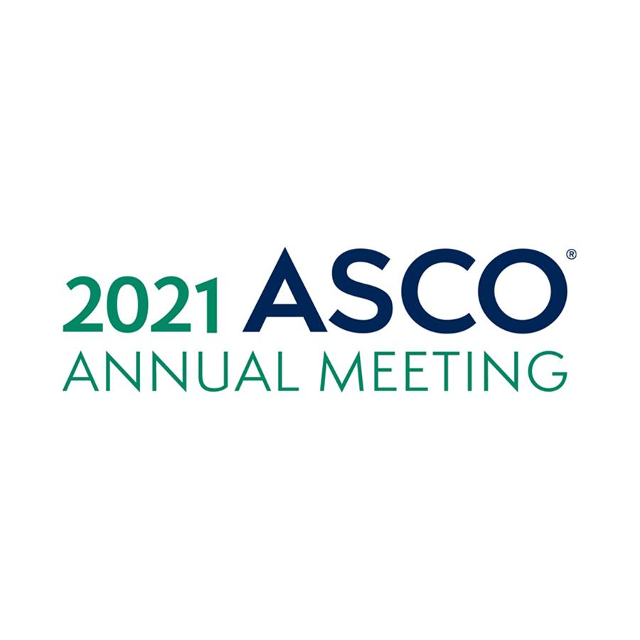 logo for 2021 ASCO annual meeting