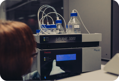lc/ms/ms ultimate 3000 mass spectrometer